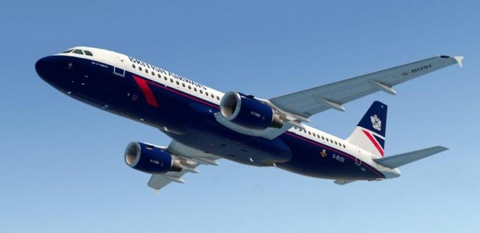 British Airways A320-200 Landor Livery G-BUSI JC EW2320006 scale 1:200