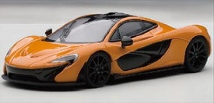 McLaren P1 (Volcano Yellow) Autoart 56011 die-cast model 1:43