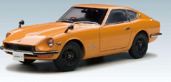 Orange Nissan/Datsun Fairlady Z432 (S-30) AUTOart 77436 Scale 1:18