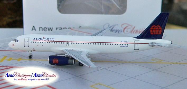 Air World  A320  G-BVJW  Scale 1:400