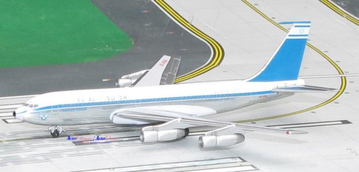 EL AL אל על Boeing 720 Reg# 4X-ABB Polished Belly Aeroclassics Die-cast Scale 1:400