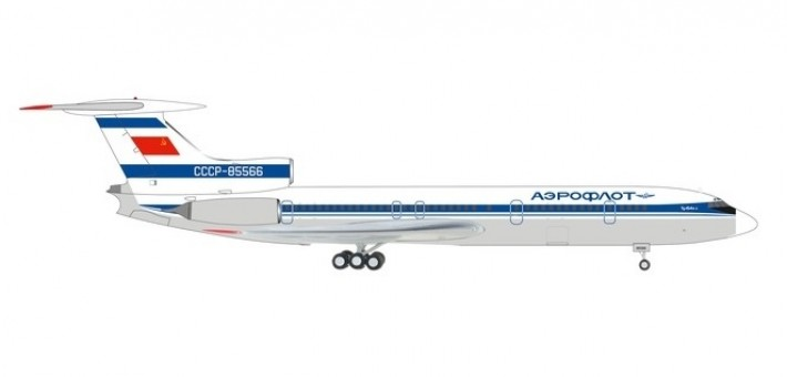 Aeroflot Tupolev TU-154M Аэрофлот CCCP-85566 Herpa 559812 scale 1:200