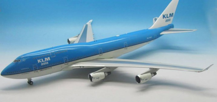 KLM Asia Boeing 747-406M Reg# PH-BFY JF-747-4-027 JFOX/ InFlight Model Scale 1:200