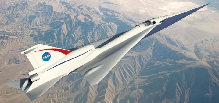 NASA QueSST Supersonic X-Plane Executive Series E90472 scale 1:72
