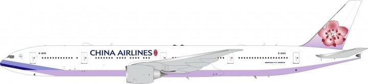 China Airlines 777-36N/ER Reg# B-18051 InFlight/ALB ALB017 Scale 1:200
