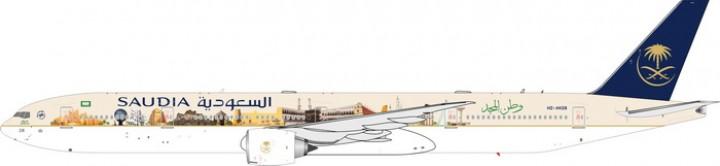 Saudi Arabian Airlines Landmarks Boeing B777-300ER Reg# HZ-AK28 Diecast 20156 Scale 1:200