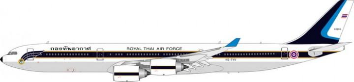 Royal Thai Airforce Airbus A340-500 Reg# HS-TYV  Phoenix Models 20167 Scale 1:200