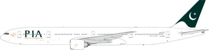 PIA Pakistan Boeing 777-300ER AP-BMS Phoenix 11569 die-cast scale 1:400