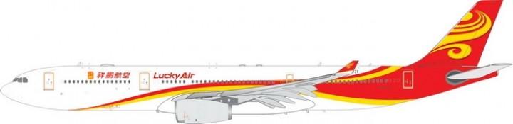 Lucky Air Airbus A330-300 registraton 祥鹏航空 B-5971 Phoenix die-cast 11416 scale 1:400