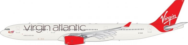 Virgin Atlantic Airbus A330-300 G-VLUV Phoenix 11536 diecast scale 1:400