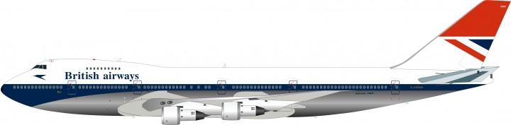 British Airways B747-136 Reg# G-AWNM ARD2027P ARD models Scale 1:200