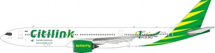 Citilink Air Airbus A330-900neo PK-GYC die-cast Phoenix 11597 scale 1:400