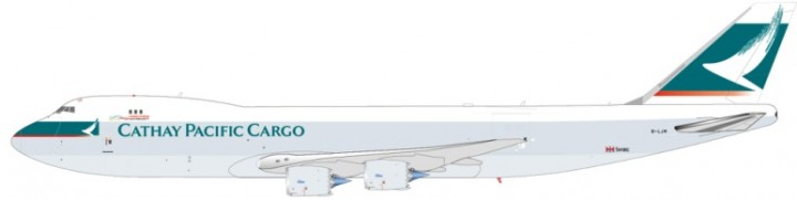 JC Wings die cast model   Cargo Boeing 747-8F Reg# B-LIM JCWings JC4MIS673 Scale 1:400