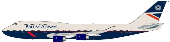 British Airways 747-400 City of Norwich Reg# G-BNLW JFOX/ InFlight JF-747-4-006 Scale 1:200