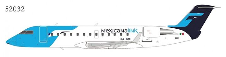 MexicanaLink CRJ-200LR XA-GMI NG52032 NG Models scale 1:200