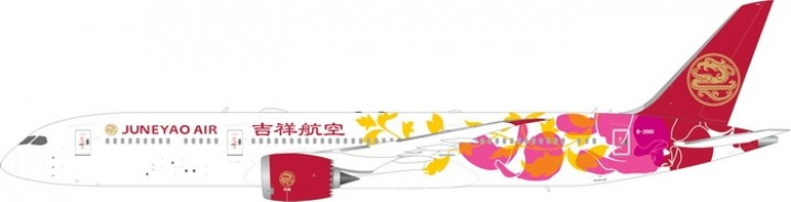 Juneyao Airlines Airlines Boeing 787-9 Dreamliner B-20D1 die-cast model Phoenix 11575 scale 1:400