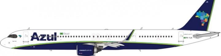 Azul Airbus A321neo PR-YJA diecast model Phoenix 11598 die-cast scale 1:400