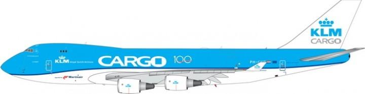 KLM Cargo Boeing 747-400 100 Years  PH-CKB die-cast Phoenix 11591 scale 1:400