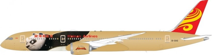 Hainan Airlines Airlines Boeing B787-9 Panda (without logo) B-1343 Phoenix 04189 Diecast  Scale 1:400