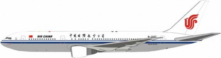 Air China B767-300 B-2557  1:400 Scale Witty Wings
