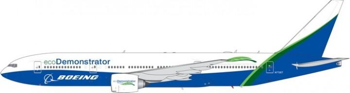 Boeing eco Demonstrator Boeing B777-200  N772ET Phoenix 11566 scale 1:400