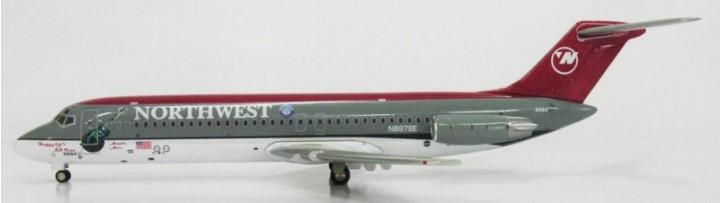 "Northwest DC-9-30 ""BB King"" Logo"
