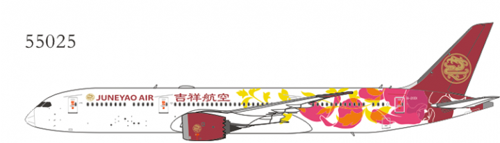 Juneyao Airlines 787-9 B-20D1 (special livery)NGModel NG55025 Scale 1:400