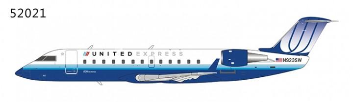 United Express CRJ-200LR N923SW (Blue Tulip livery) NG52021 NG Models 1:200