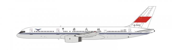 CAAC Boeing 757-200 B-2801 NG Models die cast model 53013 scale 1:400