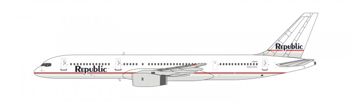Republic Airlines Boeing 757-200 N602RC NG Models die cast model 53027 scale 1:400