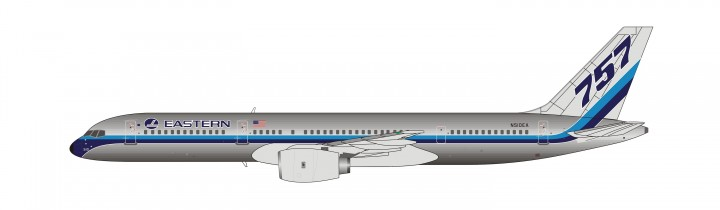 Eastern Boeing 757-200 N510EA classic tail NG Models 53028 scale 1:400