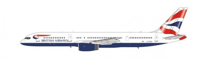 British Airways 752  G-CPES Union Flag RB211-535E4 engine NG Models 53093 scale 1-400