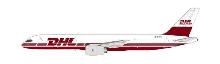DHL 752PCF cargo red livery G-BIKK NG Models 53065 scale 1:400
