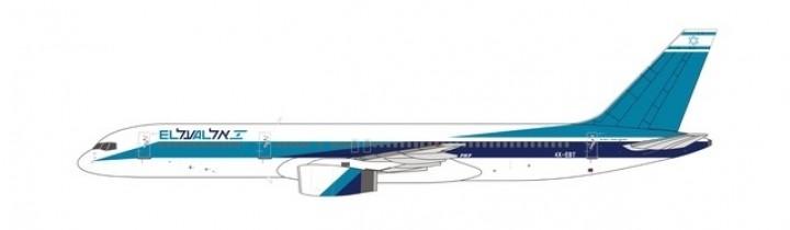 El Al Israel 752 4X-EBT delivery colors NG Models 53101 scale 1-400