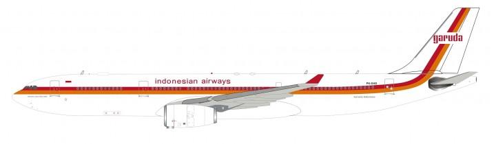 Garuda Indonesia Airbus A330-300 PK-GHD InFlight IF332EW0219 scale 1:200