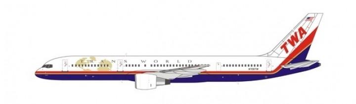 TWA 752 Trans World N706TW NG Models 53098 scale 1-400