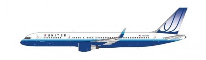 United Blue Tulip 752 N532UA NG Models 53080 scale 1400