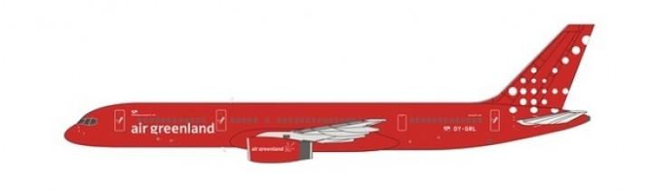 Air Greenland 752 new colors OY-GRL NG Models 53085 scale 1:400