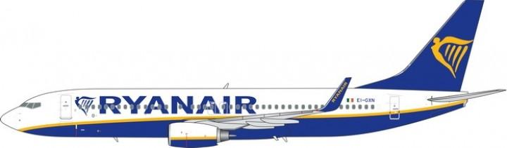 Ryanair Boeing 737-800 EI-GXN die-cast model Phoenix 11539 scale 1400