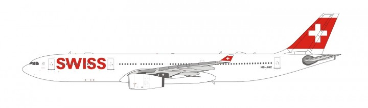 Swiss International Airbus A330-200 HB-JHC NG models 62001 scale 1:400