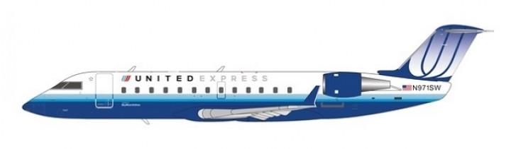 United Express CRJ-200LR N971SW NG Models 52020 scale 1200