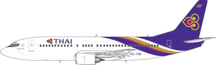 Thai Airways Boeing 737-400 HS-TDD Phoenix 11512 scale 1400