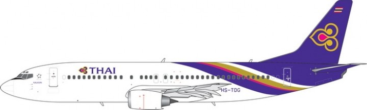 Thai Airways Boeing 737-400 HS-TDG Phoenix 11513 scale 1400