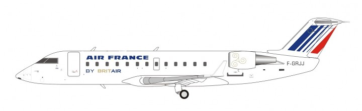 Air France CRJ-100ER F-GRJJ Operated by Brit Air NG Models 51010 scale 1:200