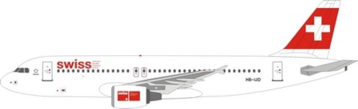 Swiss International  A320 HB-IJD  1:400 Scale Die cast