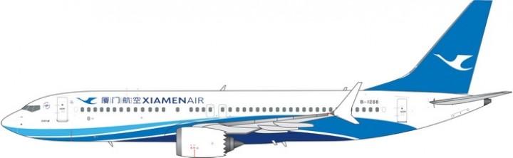 Xiamen Air Boeing 737-800 Max Reg B-1288 Phoenix Model 11468 Scale 1:400