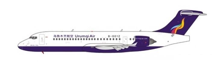 New Mould Urumqi Air Comac ARJ21-700 B-001Z NG Models 21002 scale 1:400