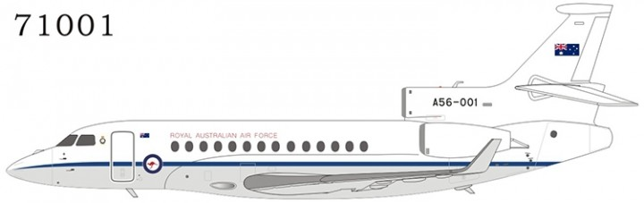 Royal Australian Air Force Falcon 7X A56-001 NG71001 NG Models 1:200