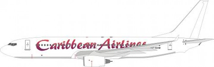 "Caribbean Airlines Boeing 737-8HO""9Y-SXM"" WTW-4-738-010"