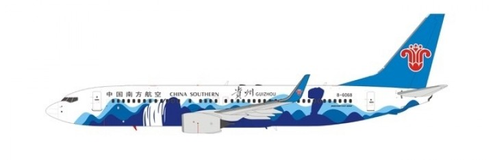 China Southern Airlines 737800 B-6068 NG models NG58006 scale 1:400